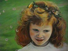 LITTLE ANGEL IV, oil on canvas, 30x20cm,