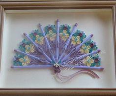 Deborah's PaperQuilling & BeadWeaving: Framed Quilling