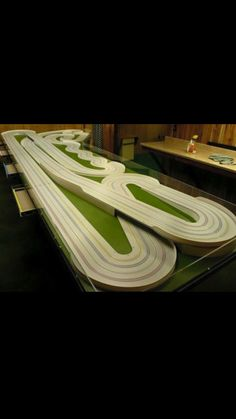 slot car tracks, slot cars, model trains, carrera, diorama, modeling,