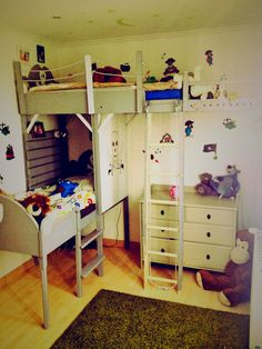 Pallet pirate bed #KidsRoom, #PalletBed, #Pirate