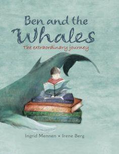 벤과고래 | 2012년 출간, 32페이지 |  수상내역: Bookchat Book of the Year Award 2012  바닷가에 살고 있는 벤과 가족. 이야기는 벤과 할아버지의 바닷가 산책으로 시작한다. 바다를 사랑하는 할아버지는 손자에게 갈매기, 파도, 고래에 대한 이야기를 해 준다. 할아버지의 이야기에 귀 기울이면 평범한 일상도 신비한 마법으로 물드는것 같다. 그런데 어느날 할아버지는 시름시름 앓더니 노환으로 돌아가신다. 이제 할아버지와 걸었던 그 산책길을 벤은 아빠과 걷는다. 아빠는 벤에게 언젠가 길을 잘못 찾아 해변가 모래사장까지 올라와 죽은 엄마 고래에 대한 이야기를 해 준다. 아기 고래와 친구 고래들은 위험한 줄 알면서 해변가의 엄마고래를 떠나기 힘들어 했다. 하지만 바다 저편에서 들리는 고래의 노래소리는 슬픔에 젖어 있는 아기 고래를 불렀고, 아기 고래는 자기의 길을 찾아 떠난다. 할아버지는 언제나 벤의 마음에 살아 있을거라고 아빠는 말한다.