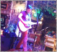 Live music from popular musician, Sercan, at Planet Yucca Kusadasi