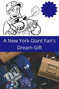 81f47e5227b New York Giants Fans will LOVE this gift. No need to stress about finding  the