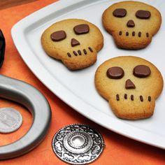 Pirate's Skull Cookies   Dreadfully Delightful Halloween Treats   Food   Disney Family.com