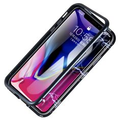 Magnetic Adsorption Metal Tempered Glass Protective Case for iPhone 11 Pro Max inch Iphone 11, Iphone Cases, Apple Iphone, Magnetic Frames, Car Detailing, Glass Screen Protector, 6s Plus, Protective Cases, Full Body