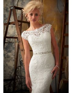 Ivory Vintage Lace Wedding Dress Tmsoxft