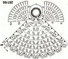 Angel a crochet patrón incluido ~ lodijoella
