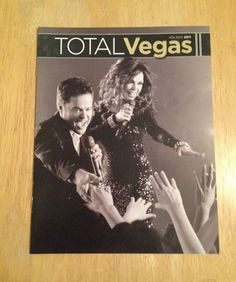 TOTAL VEGAS MAGAZINE - Holiday 2011 - DONNY & MARIE OSMOND: IT TAKES TWO, BABY!
