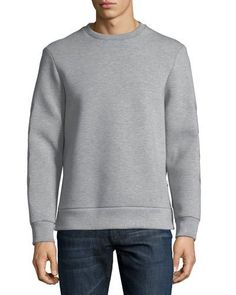 Neil Barrett Neoprene Military-Arrow Sweatshirt Neil Barrett 63e66012811