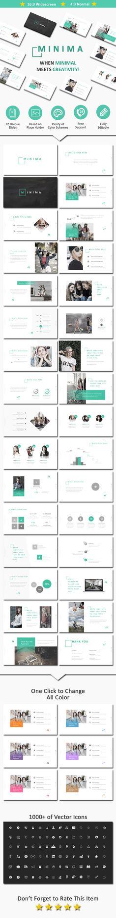 Minima - PowerPoint Template
