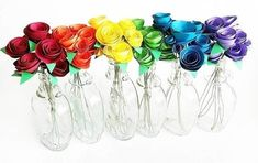 I forgot how neat paper flowers look in maple syrup jars 🌈 . Craft Supplies Online, Arts And Crafts Supplies, Crafty Projects, Projects To Try, Crafts For Kids, Diy Crafts, Teacher Supplies, Daily Planner Printable, Frame Crafts