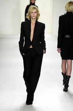 Calvin Klein Collection fall/winter 2001