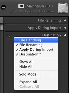 Lightroom: 5 tips for importing your photos into Adobe Lightroom; Jan Kabili; bloglynda.com