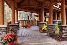Entry way at Triple Creek Ranch.