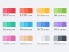 Flat Color Palette designed by Azis Hertanto. Connect with them on Dribbble; Web Flat Design, Flat Design Colors, Web Colors, Design Design, Flat Color Palette, Colour Pallette, Color Palate, Flat Design Inspiration, Color Inspiration