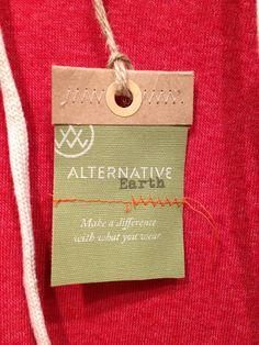 Alternative Earth Hang Tag