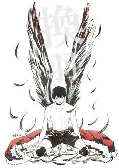 Haikyuu This is a beautiful fan art! Kudos to the creator! / Haikyuu / hq / Kageyama / King of the Court / Hinata Shoyo / Karasuno / ハイキュー! Haikyuu Kageyama, Hinata, Manga Haikyuu, Haikyuu Fanart, Kagehina, Kenma, Manga Anime, Boys Anime, Anime Art