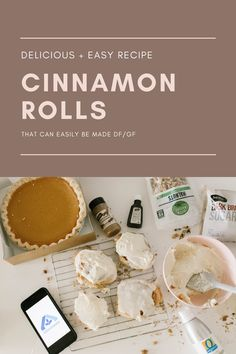 #ad Whether you're looking for Pumpkin anything, gifting or baking necessities it's all easy to find at your local Albertsons banner store. Also sharing a yummy cinnamon roll recipe that can easily be made DF/GF which is a huge win in my book - using O Organics® and Signature SELECT™ products. PS - they currently have Pumpkin Pie ice cream, Pumpkin Cheesecake, Pumpkin whipped cream - seriously so many delicious pumpkin options, a fall dream! #Albertsons