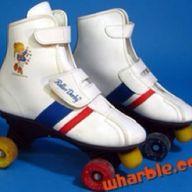 Rainbow Bright skates!