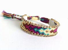 Swarovski Friendship Bracelet warm colors bracelet от colordrop