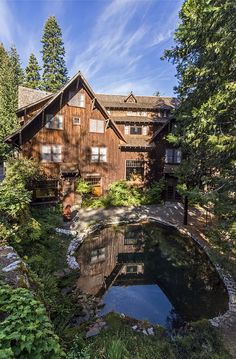 Oregon Caves Chateau - A historic hotel nestled in a steep ravine near the Oregon Caves. The hotel is said to be haunted, but what self respecting  older hotel would not have its shares of permanent residents.