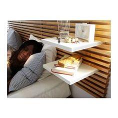 MANDAL Tête de lit, bouleau, blanc - bouleau/blanc - IKEA