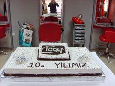 10 yıl pastamızdı :)
