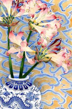 Belladonnas. / Aquarelle, watercolour. / By Gabby Malpas.