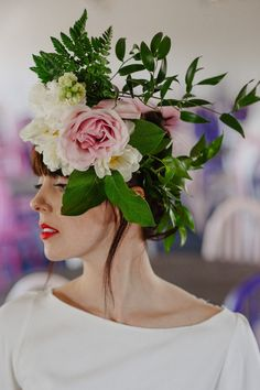 Flower crown by Skillad florals, Lovely Life