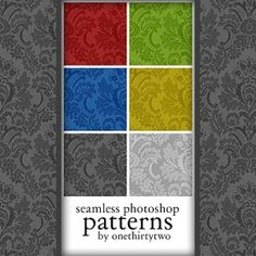 Enough FREEBIES to crash your hard drive!  WAHOO!  650+ #Free #Photoshop Patterns