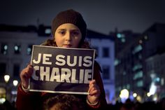 Today, are we brave enough to be Charlie?  Here are some of Valentina Calà photos from Wednesday evening.