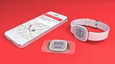 Sensores wearable que detetam ataques de epilepsia e chamam por ajuda.
