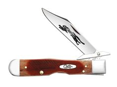 CASE XX Sawcut Caramel Bone Cheetah Stainless Pocket Knife Knives