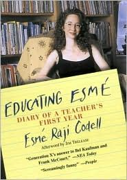A must-read for parents, new teachers, and classroom veterans, Educating Esmé is the exuberant diary of Esmé Raji Codell's first year teaching in a Chicago public school. Fresh-mouthed and free-spirited, the irrepressible Madame Esmé—as she prefers to be called—does the cha-cha during multiplication tables, roller-skates down the hallways, and puts on rousing performances with at-risk students in the library. Her diary opens a window into a real-life classroom from a teacher's perspective…