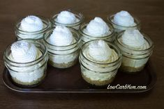 low carb no bake key lime cheesecake whipped cream