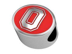 Ohio State Buckeyes OSU Bead Fits Pandora