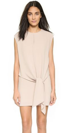 Tibi Tie Dress | SHOPBOP