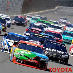 Nascar...Kyle leading the pack.