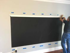 How to Make a DIY Chalkboard Wall (that's magnetic too!) A chalkboard wall is the perfect addition to a playroom. Read more on how to make a chalkboard wall. DIY Framed Magnetic Chalkboard Wall for Kid's Playroom) Chalkboard Wall Playroom, Framed Chalkboard Walls, Make A Chalkboard, Playroom Wall Decor, Magnetic Chalkboard, Playroom Organization, Magnetic Wall, Playroom Table, Playroom Furniture