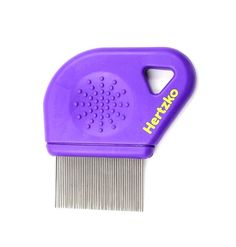 Long Teeth Flea Comb by Hertzko - Closely Spaced Metal Pins Removes Fleas, Flea Eggs and Debris, from Your Pet's Coat - 25mm Long Metal Teeth are Great for Long Hair Areas on Dogs and Cats * New and awesome dog product awaits you, Read it now  : Flea and Tick Control