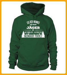 Leg dich nie mit einem Jger an - Shirts für ehemann (*Partner-Link)