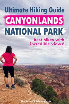 Utah Vacation, Dream Vacations, Places In Usa, Canyonlands National Park, National Parks Usa, Best Hikes, California Travel, Travel Usa, Adventure Travel