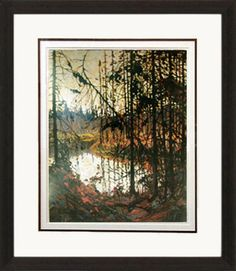 Northern River - Numbered By Artist | Group Of Seven | Framed Art | Wall Decor | Art | Picture | Home Decor