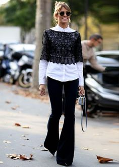Street style- Black and white