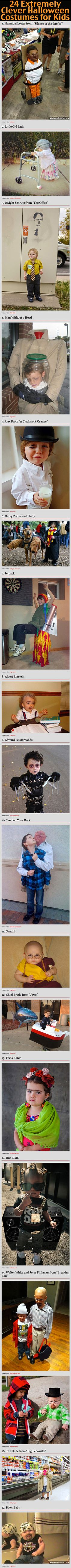 24 Extremely Clever Halloween Costumes For Kids