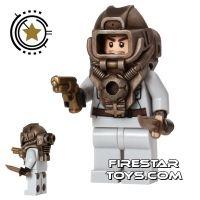 Custom Design Mini Figure - Jasbrick Steampunk Explorer 1