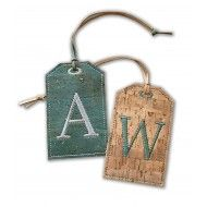 Beach-Ocean-Sea-Theme-starfish Leather Luggage Tags Personalized Travel Accessories With Privacy Flap