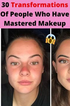 30 Transformations Of People Who Have Mastered Makeup Epic Facts, Funny Facts, Weird Facts, Matte Pink Nails, Matte Lips, Fancy Hairstyles, Wedding Hairstyles, Tommy Shoes, Pakistani Bridal Hairstyles