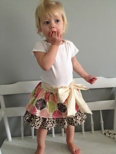 Toddler skirts