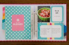 A Project Life Recipe Book!